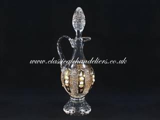 Handmade Crystal Carafes & Decanters Classical Chandeliers 廚房餐具、陶器與玻璃製品