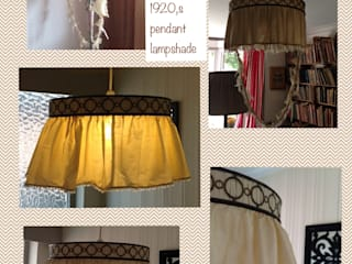 Lampshade renovations by Silkworm & Cottontails T/A C R P Interiors Ltd