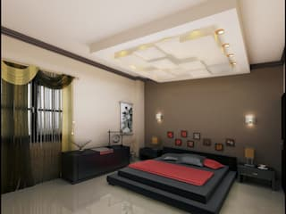 Bedroom by Etihad Constructio & Decor