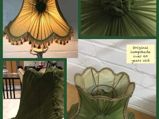Sunburst lampshade in chiffon :   by Silkworm & Cottontails  T/A C R P Interiors Ltd