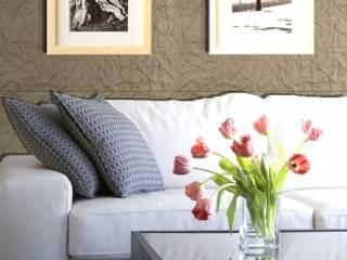 Panespol y su gama textil para las paredes Espacios comerciales de estilo moderno de Panespol Moderno