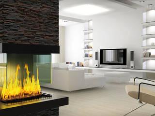La pizarra es el material perfecto para revestir tu pared Comedores de estilo moderno de Panespol Moderno