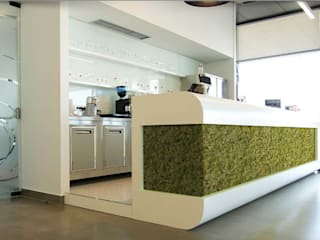 El lado más natural de Panespol para revestir las paredes de tu hogar o negocio Cocinas de estilo moderno de Panespol Moderno