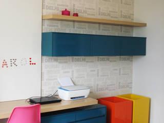 Projeto de Interiores - Residencial:   por Gabriella Roza Arquitetura e Interiores,Moderno