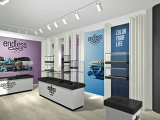 Endless Store, Amstelveen, NL:  Ladenflächen von SW  Retail+Interior Design,Modern