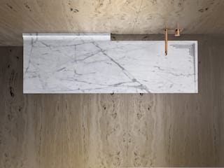 BALI TCC Whitestone BathroomSinks Marble White