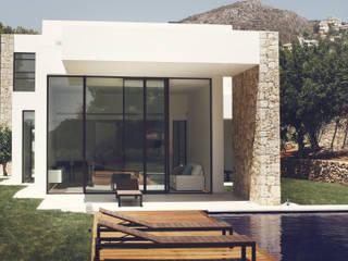 Villa El Portet: Casas de estilo  de Nuam
