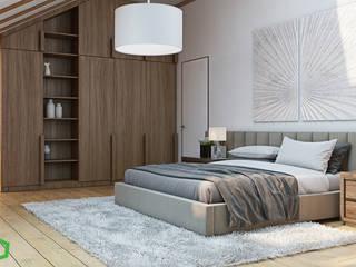 Bedroom by Polygon arch&des,
