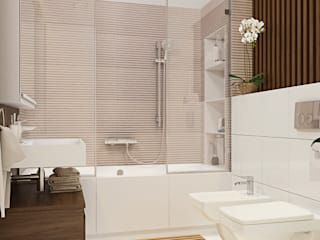 modern Bathroom by Polygon arch&des