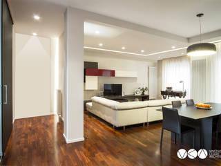 Casa MV:  in stile  di Vincenzo Leggio Architetto