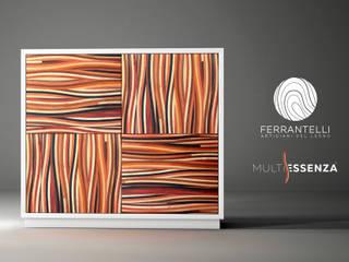 Credenza Alta:  in stile  di Ferrantelli Falegnameria Artigiani del Legno
