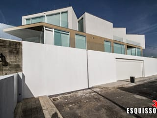 """Casa I+R (em colaboração com o Gabinete """"Esquissos 3G"""") Casas modernas por Ricardo Baptista, Arquitecto Moderno"""