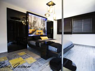Fatma Gürçam İçmekan Tasarım ve Uygulama – MODERN YATAK ODASI:  tarz Yatak Odası
