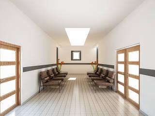 Moderne kantoor- & winkelruimten van MAG Tasarım Mimarlık İnşaat Emlak San.ve Tic.Ltd.Şti. Modern