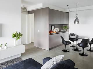Столовая комната в стиле модерн от ATM Arquitetura Модерн
