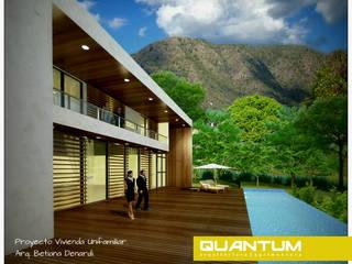 Vivienda Unifamiliar - Q2: Casas de estilo minimalista por QUANTUM | Arq. Betiana Denardi