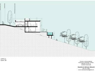 Vivienda Unifamiliar - Q2: Casas de estilo  por Betiana Denardi | Arquitecta
