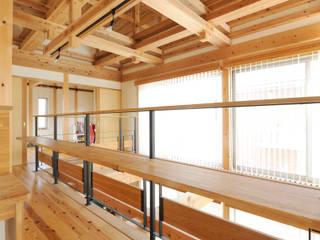 牟呂の家 モダンスタイルの 玄関&廊下&階段 の 株式会社 望月工務店 モダン
