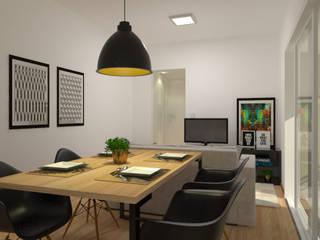 Studio Orbit 703 2:1 Arquitetura & Interiores Salas de jantar industriais