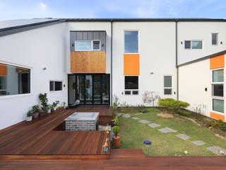 중정: 주택설계전문 디자인그룹 홈스타일토토의  정원