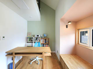 Habitaciones modernas de 주택설계전문 디자인그룹 홈스타일토토 Moderno Aglomerado