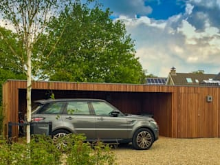 Rust en avontuur: moderne Tuin door Vosselman Buiten