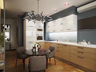 Квартира уютного одиночества: Коридор и прихожая в . Автор – Polovets design studio