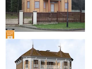 Classic style houses by архитектурная мастерская МАРТ Classic