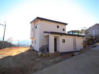 Дома в стиле модерн от 위드하임 Модерн
