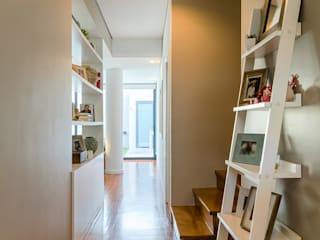 Entrada - Hall: Corredores e halls de entrada  por Franca Arquitectura
