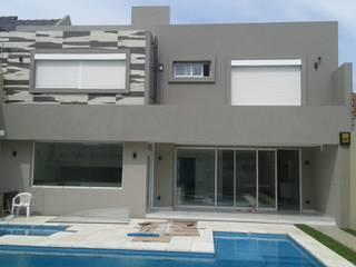 Cortinas Cabildo. Persianas y ventanas 011-4781-4022 15-3567-6716 Modern Houses Aluminium/Zinc White