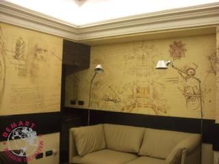 Decorazione pareti Business Centre per Hotel Principe di Savoia (Milano):  in stile  di Demart Interior Decoration