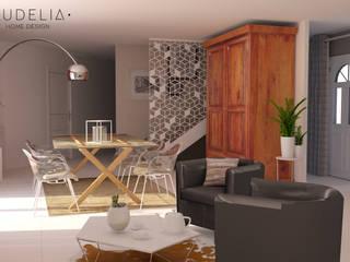 Coin repas / modèle 3D:  de style  par AUDELIA HOME DESIGN