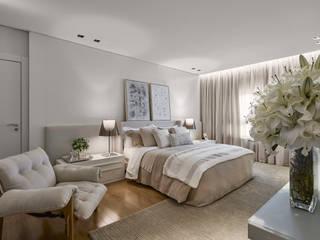 Dormitorios de estilo moderno por Alessandra Contigli Arquitetura e Interiores
