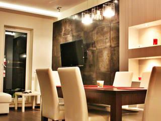 Mieszkanie Żeligowskiego: styl , w kategorii Salon zaprojektowany przez DCODE Emilia Krysińska,