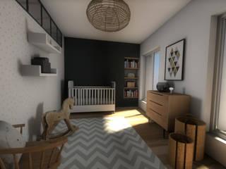 Vue de la chambre d'enfant: Chambre d'enfant de style  par Dem Design