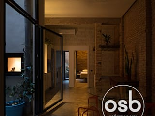 Industrial style living room by osb arquitectos Industrial