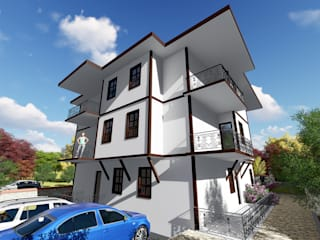 Melahat Atay Apartmanı Klasik Evler Kesit Mimarlık Klasik