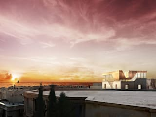 Private Residence, Azerbaijan Modern houses by ÜberRaum Architects Modern