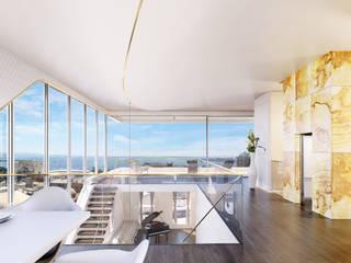 Private Residence, Azerbaijan Modern living room by ÜberRaum Architects Modern