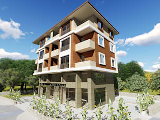 Sürül İnşaat Dış Cephe Tasarımı Modern Evler Kesit Mimarlık Modern