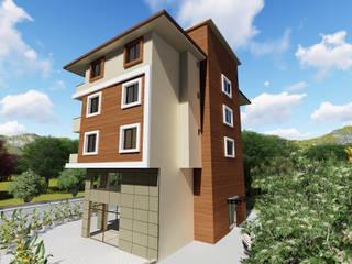 Kesit Mimarlık – Sürül İnşaat Dış Cephe Tasarımı:  tarz Evler