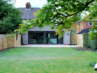 Extension Gilnahirk Belfast:  Houses by Jim Morrison Architects