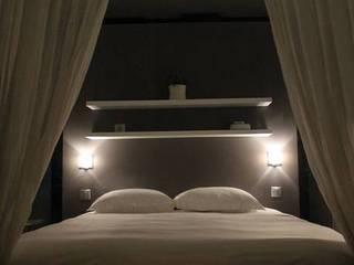 Coté chambre: Chambre de style  par Jérome Picarat Architecte