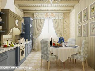 Дух Прованса: Кухни в . Автор – Design by Ladurko Olga