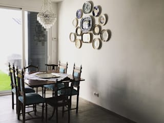 Dining room by QFProjectbuilding, Unipessoal Lda