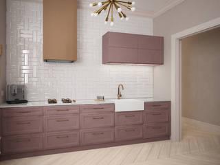 projekt apartamentu w starej kamienicy: styl , w kategorii Kuchnia zaprojektowany przez Nova