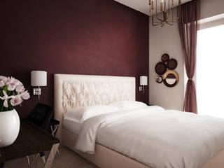 projekt apartamentu w starej kamienicy: styl , w kategorii Sypialnia zaprojektowany przez Nova