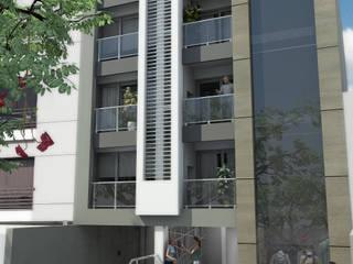 EDIFICO MAJA 3 Casas modernas: Ideas, imágenes y decoración de MAJA arquitectura & construcción Moderno