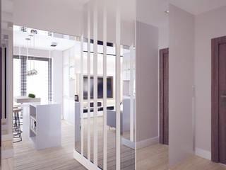 projekt wnętrz mieszkania: styl , w kategorii Jadalnia zaprojektowany przez Nova
